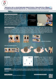 Fisioterapia Invasiva - Eficacia EPTE y ejercicios excéntricos en tendinopatía del supraespinos
