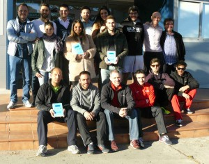Alumnos asistentes a la formación de EPTE dentro del master de fisoterapia y readaptación en el deporte de la Universidad Camilo José Cela de Madrid