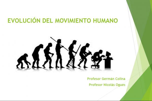 Evolución del ser humano y su movimiento