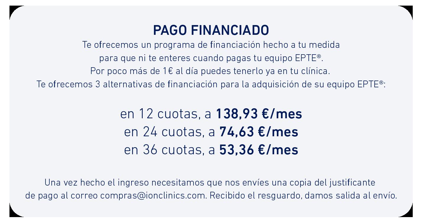 Condiciones de Financiación EPTE