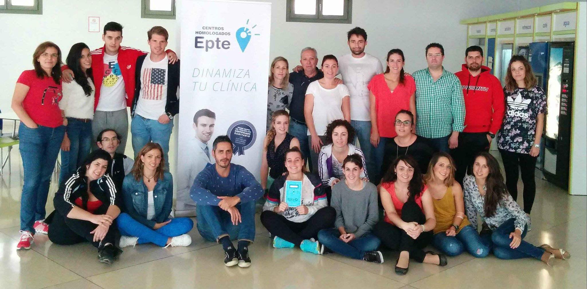 Galería imágnes de los cursos oficiales EPTE electrólisis percutánea terapéutica