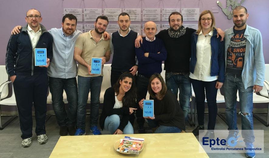 corso epte elettrolisi percutanea terapeutica italia