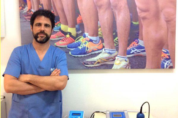 Alejandro Bayo podologo uso de zapatillas con ruedes en niñoz