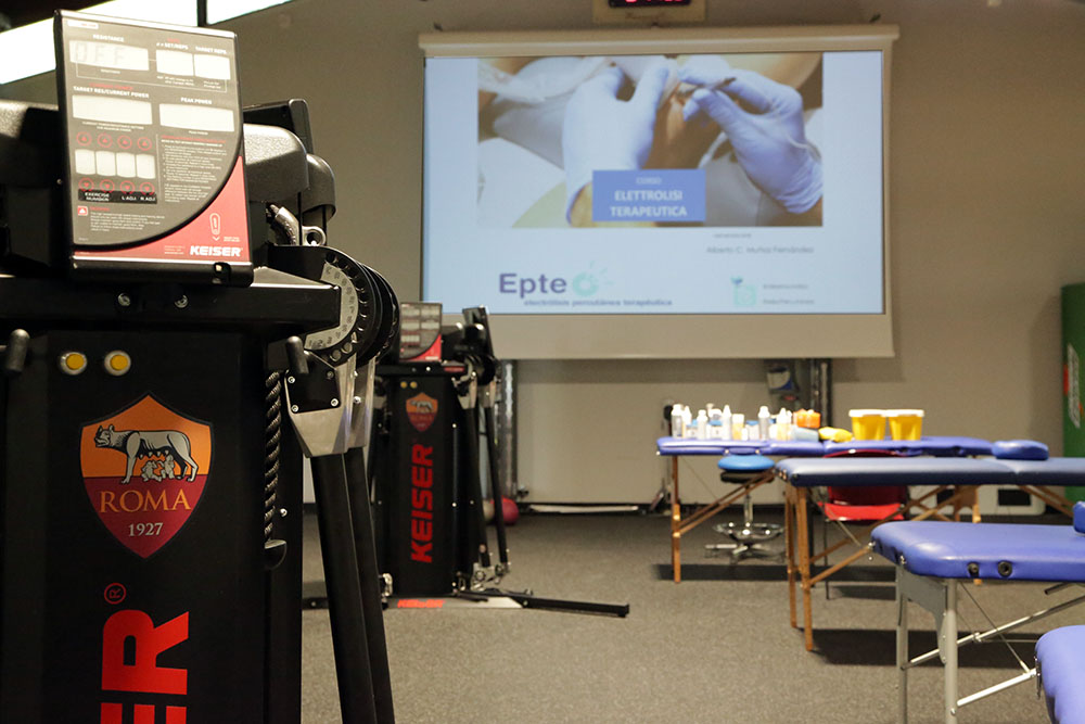 Percutaneous Electrolysis Therapy EPTE® course at AS Roma
