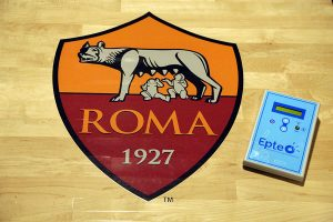 AS Roma medic staff at the EPTE course