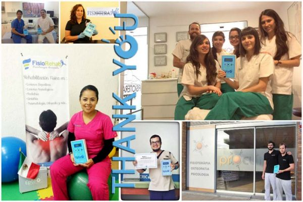 EPTE® Official Centers in 8 different countries