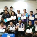 alumnos del curso EPTE en Puebla, México