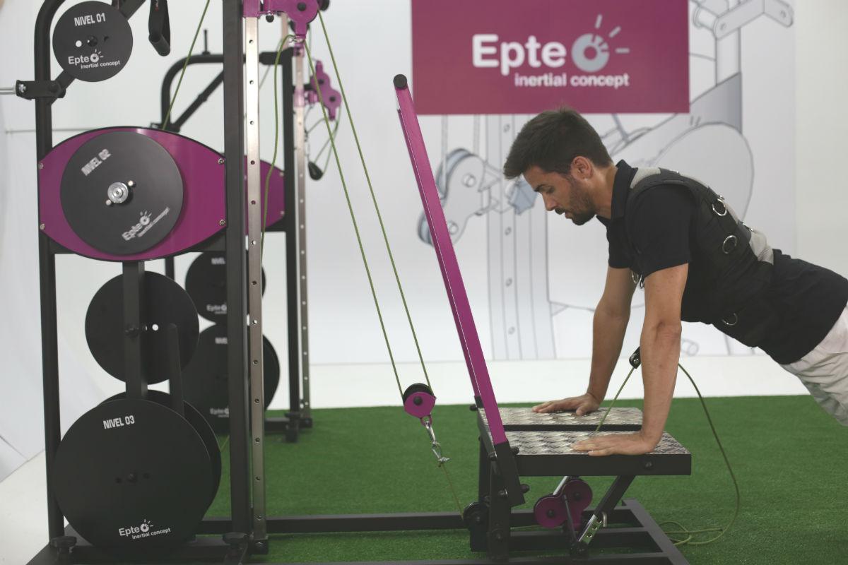 allenamento eccentrico con EPTE Inertial Concept