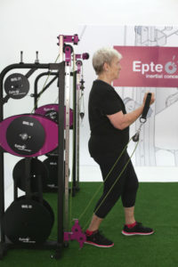 Exercício excêntrico com EPTE Inertial Concept
