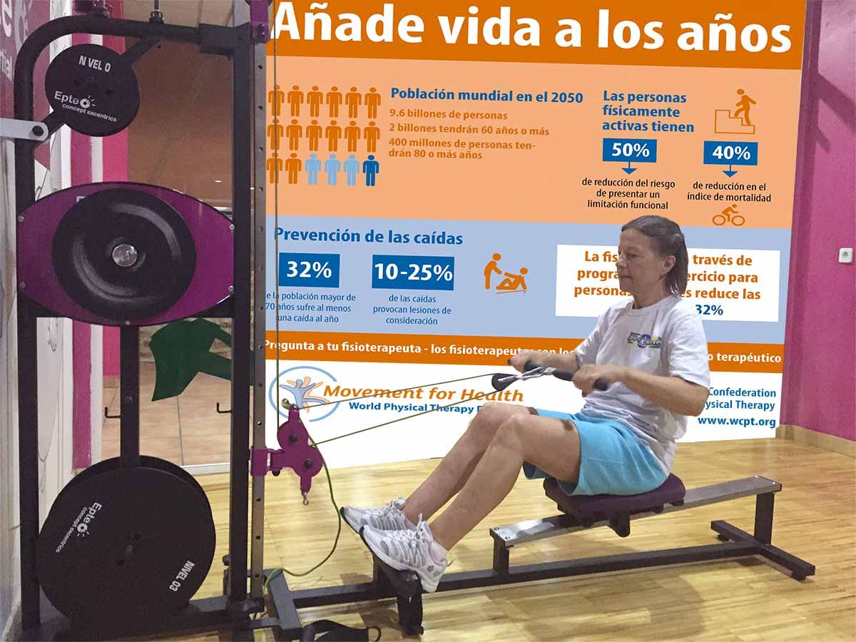 Dia de la fisioterapia añade vida a los años