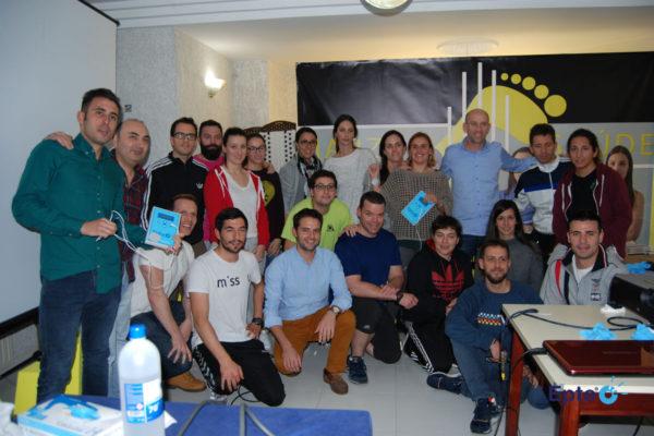 Alumnos del curso EPTE electrólisis percutánea en Lugo