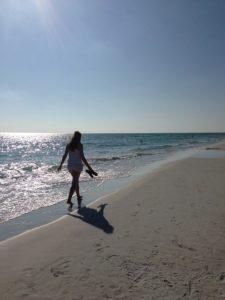 caminar por la playa, consejos EPTE