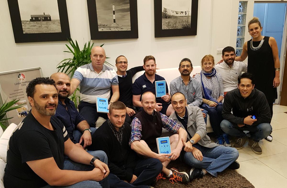 Formación EPTE en Londres electrolisis percutanea Reino Unido