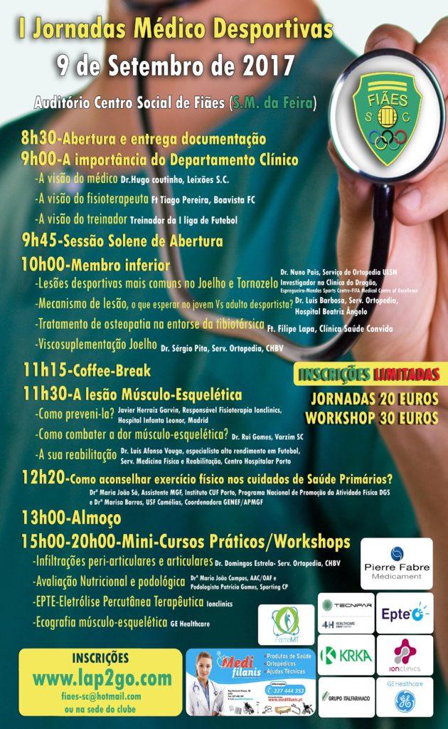 Programa Jornadas Médico-Desportivas Fiães SC