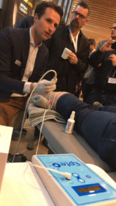 percutaneous electroysis Nationaal Shockwve symposium Niek Vink