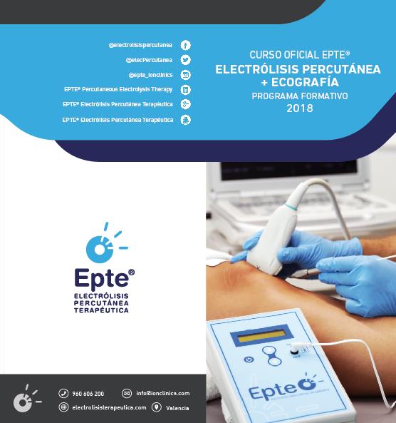 Programa Oficial EPTE + Ecografía 2018
