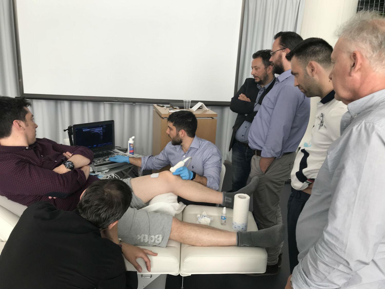 curso electrolisis percutánea Grecia percutaneous electrolysis course