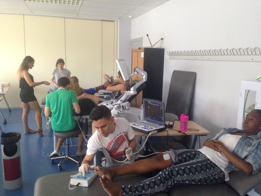 Electrolisis percutánea EPTE® en elMáster en Fisioterapia Deportiva-Escuela Universitaria Real Madrid