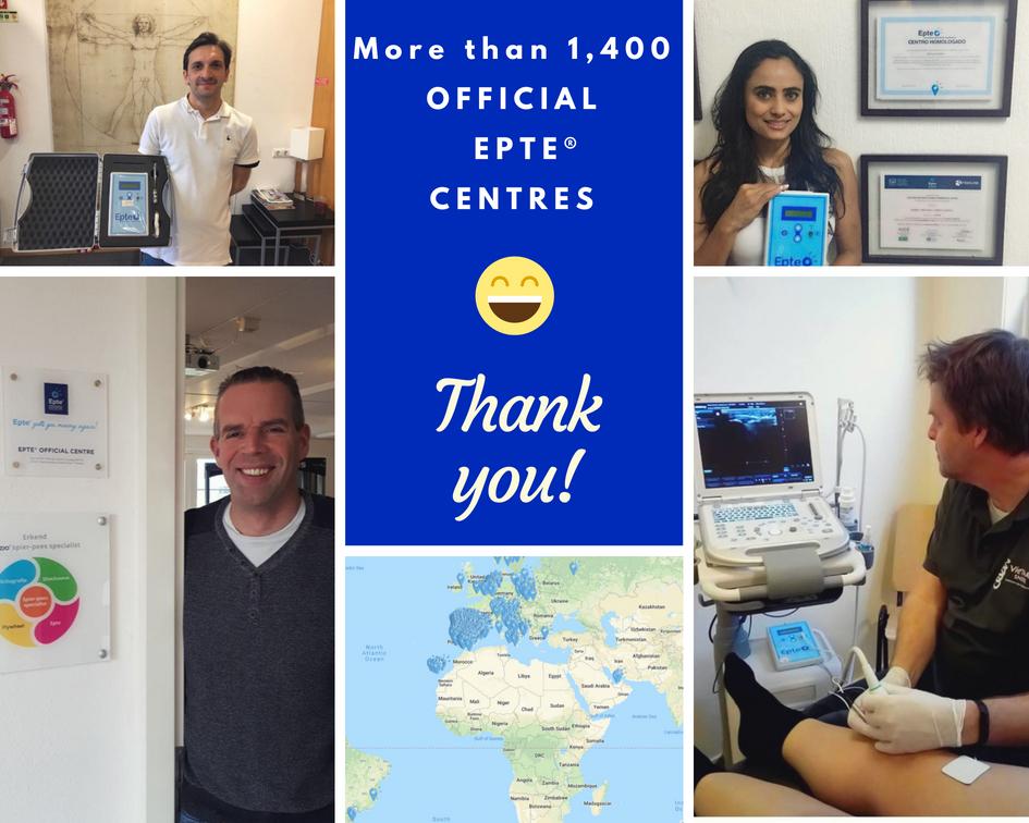Official EPTE Centres percutaneous electrolysis