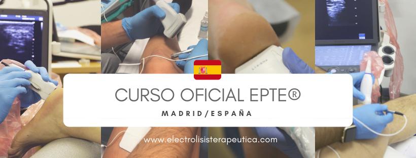 Curso Electrolisis Percutánea EPTE Madrid