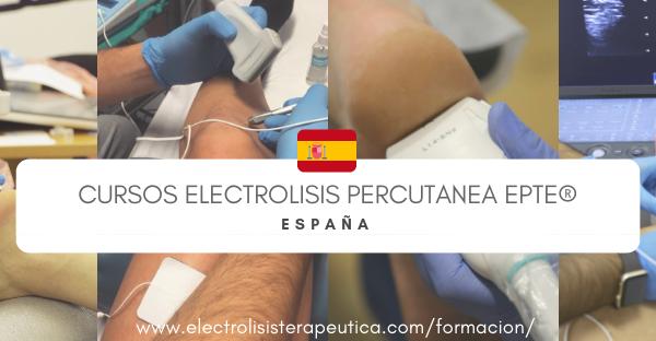 Curso Electrolisis Percutánea España 2019