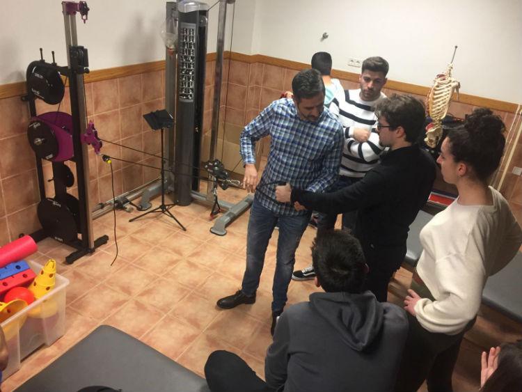 Maquina Isoinercial EPTE Seminario Fisioterapia UCAM