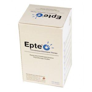Agujas de acupuntura EPTE® 0,30x75 mm con tubo