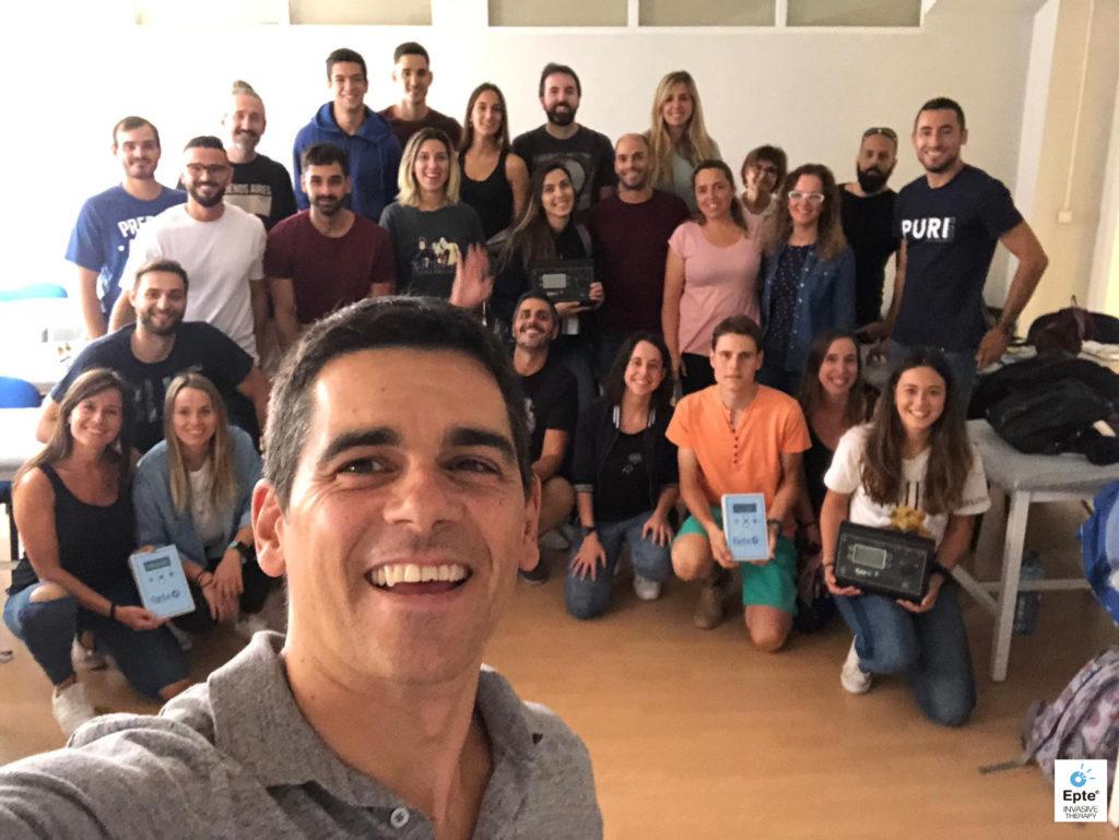 Cursos EPTE electrolisis percutánea Madrid Septiembre 2019