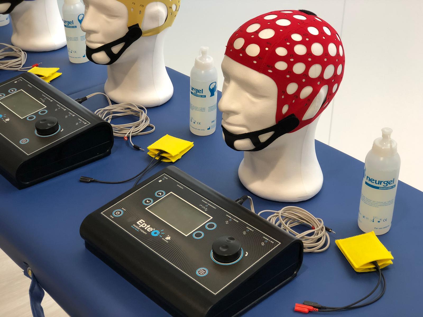 Transcraneal tDCS Transcranial Direct Current Stimulation
